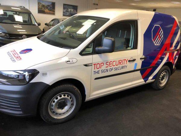 Top Security Caddy 1 - Sign Geer